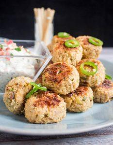 Cauliflower-Meatballs