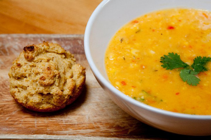 What to serve with corn chowder?