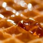norwegian heart waffles
